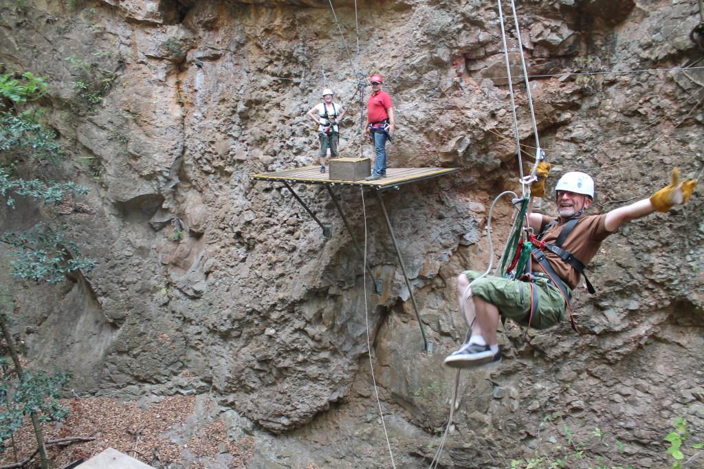 tarzan rope zip line costa rica