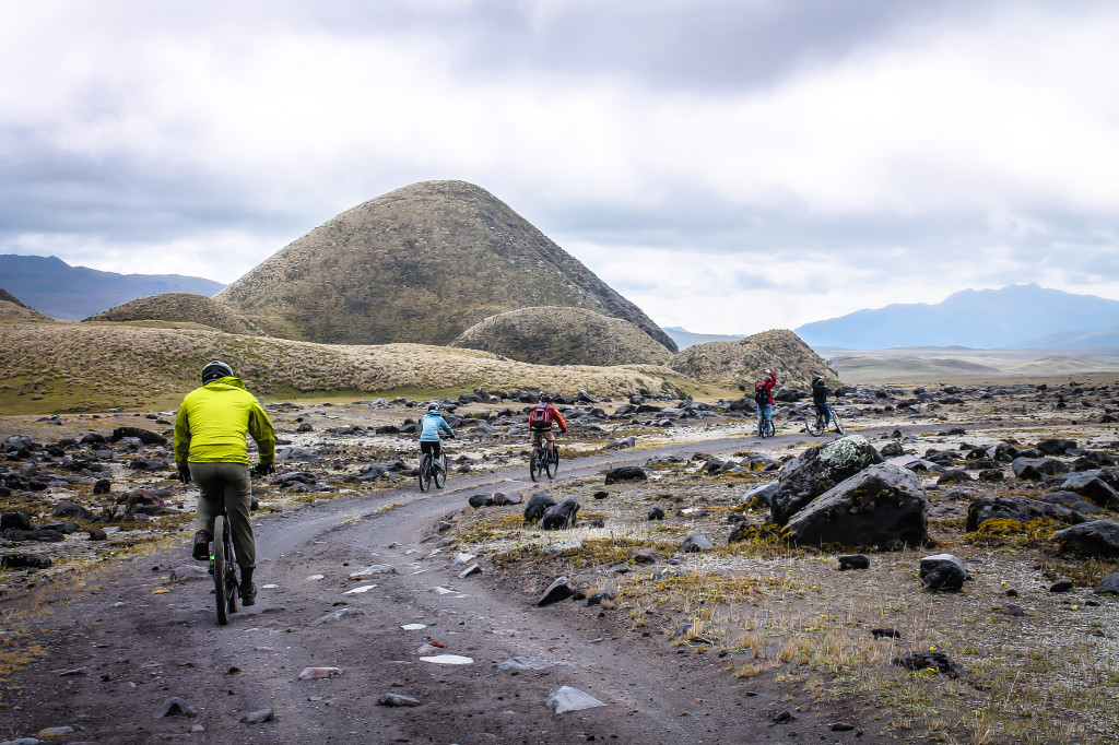 Mountain biking - Cotopaxi National Park