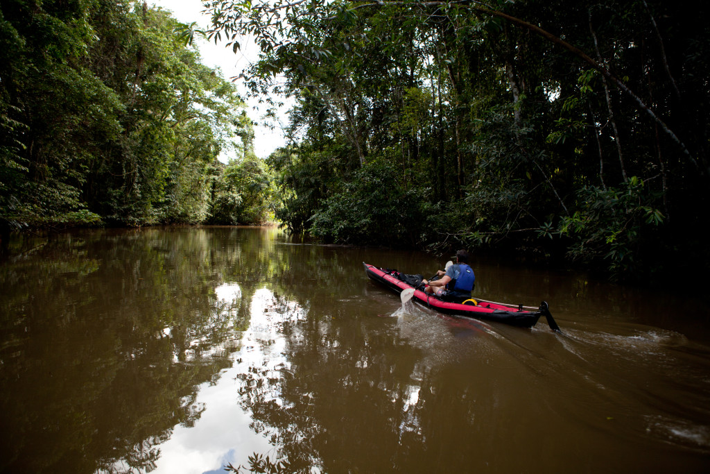 Kayak Amazon Ecuador