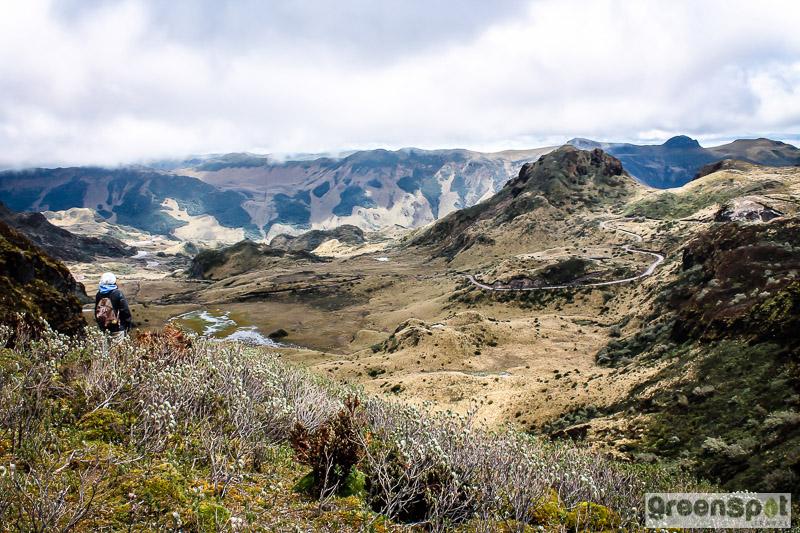 hiking Ecuador