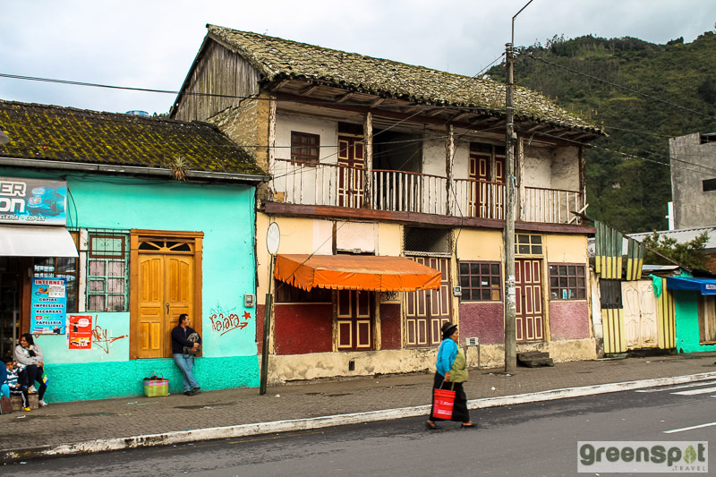 authentic Ecuador town