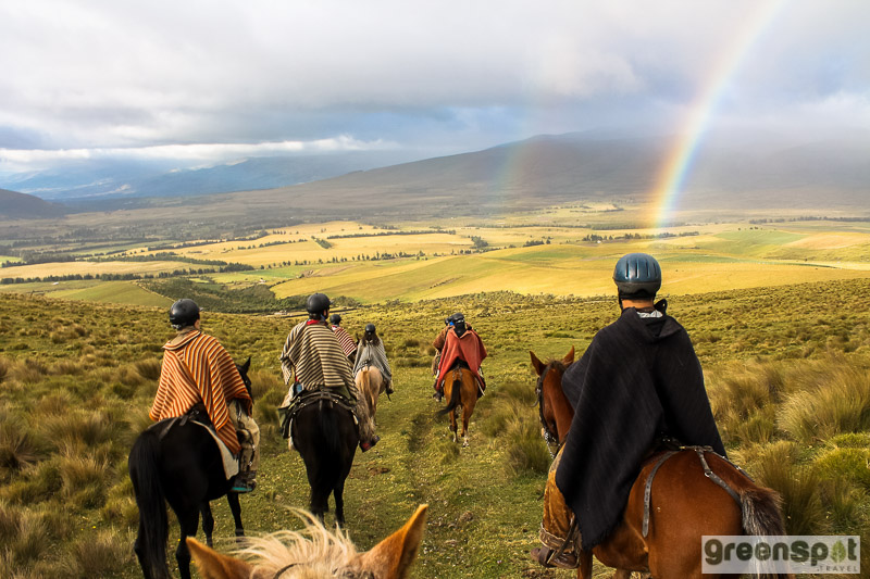 horseback riding Ecuador Andean Highlands