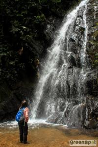 waterfall, Ecuador